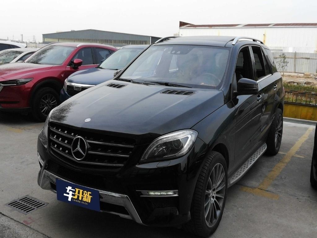 奔驰(进口)ML350 2012款 豪华型(带路况适应系统)